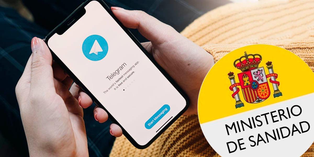 canal Telegram ministerio sanidad españa coronavirus