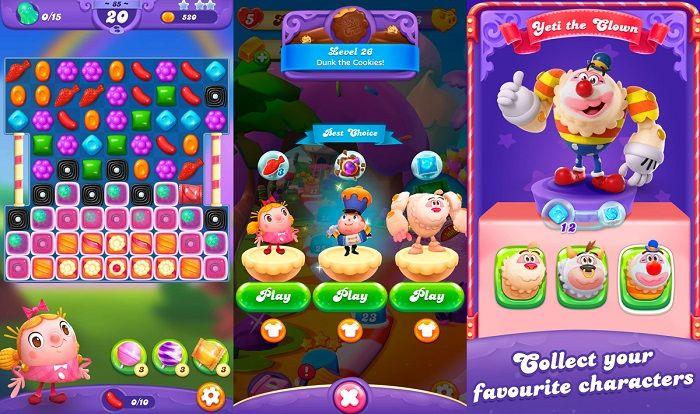 candy crush friends saga descarga