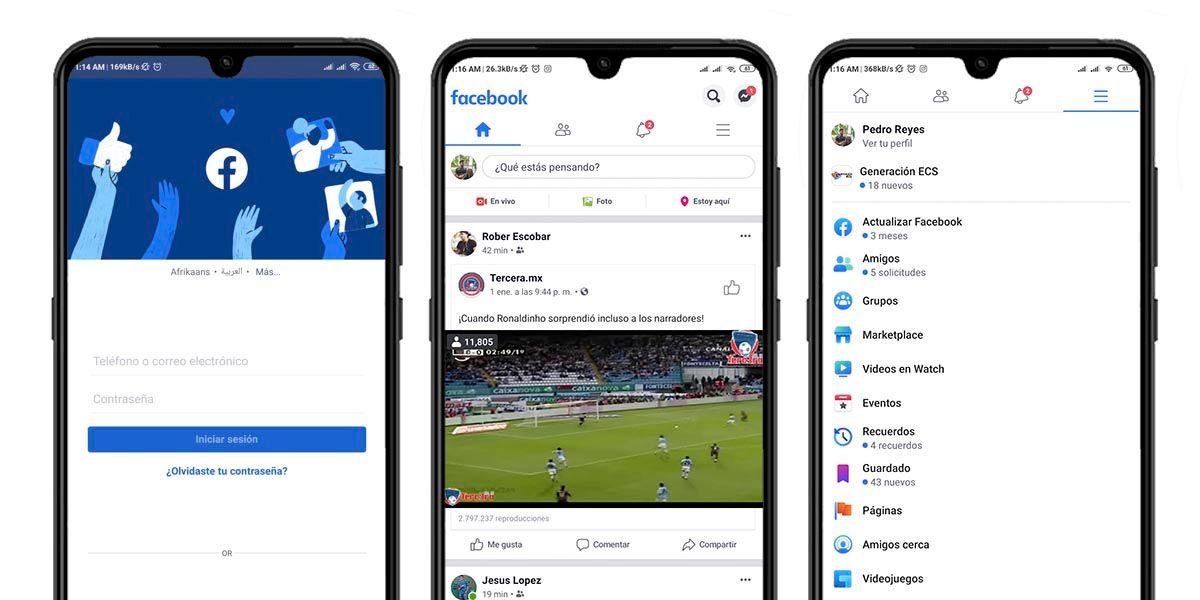 capturas Facebook LC sin anuncios Android