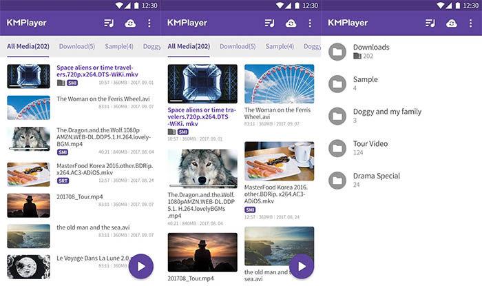 capturas de KM Player