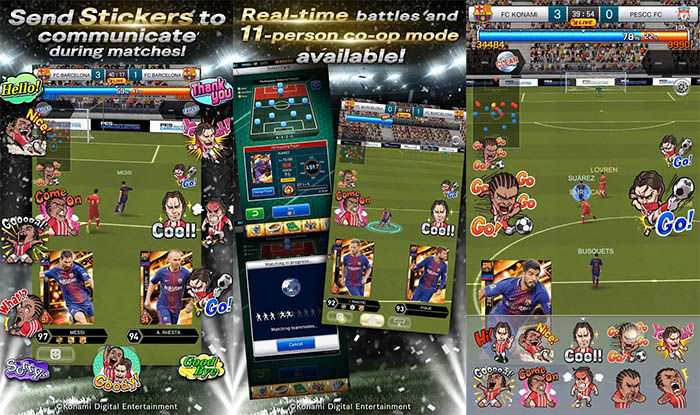 capturas de PES CARD COLLECTION