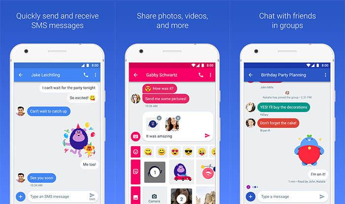 capturas de mensajes para Android