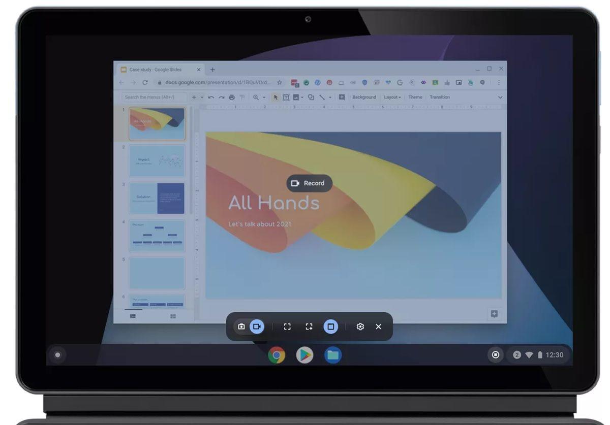 capturas de pantalla rapidas chrome os