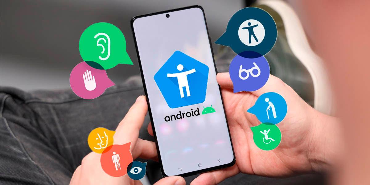 características accesibilidad android