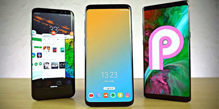 caracteristicas android pie galaxy