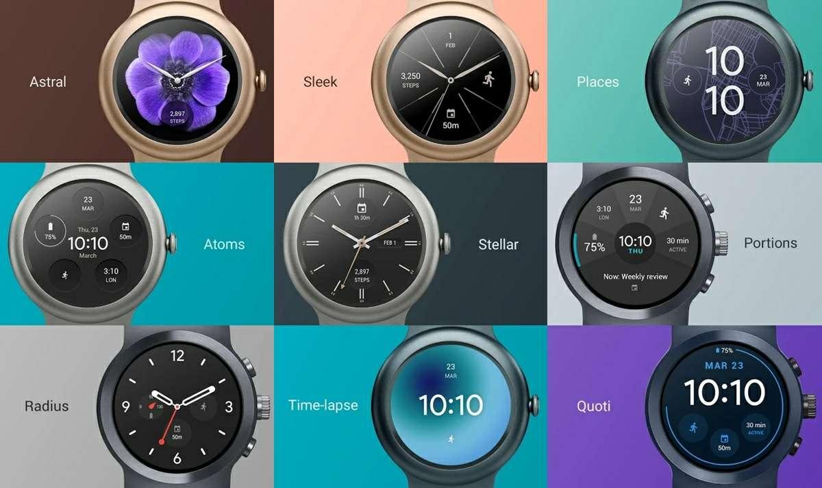 caras de reloj app