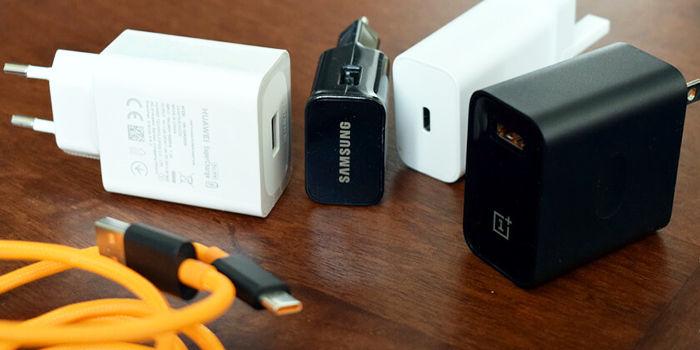 cargadores smartphones