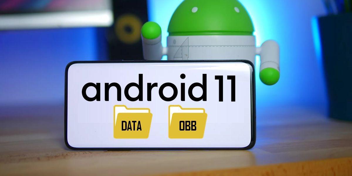 carpetas data obb en android 11