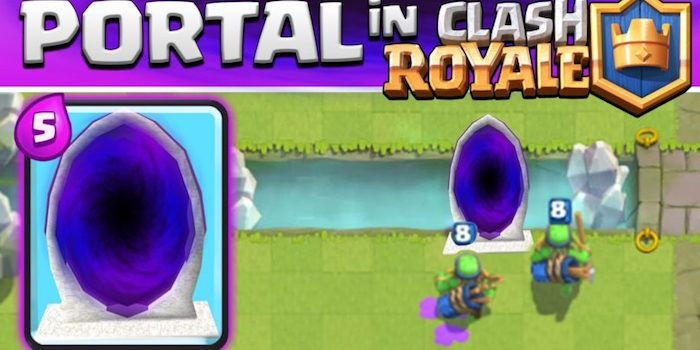 carta teletransporte clash royale