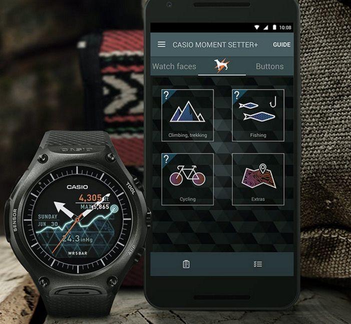 casio con android wear