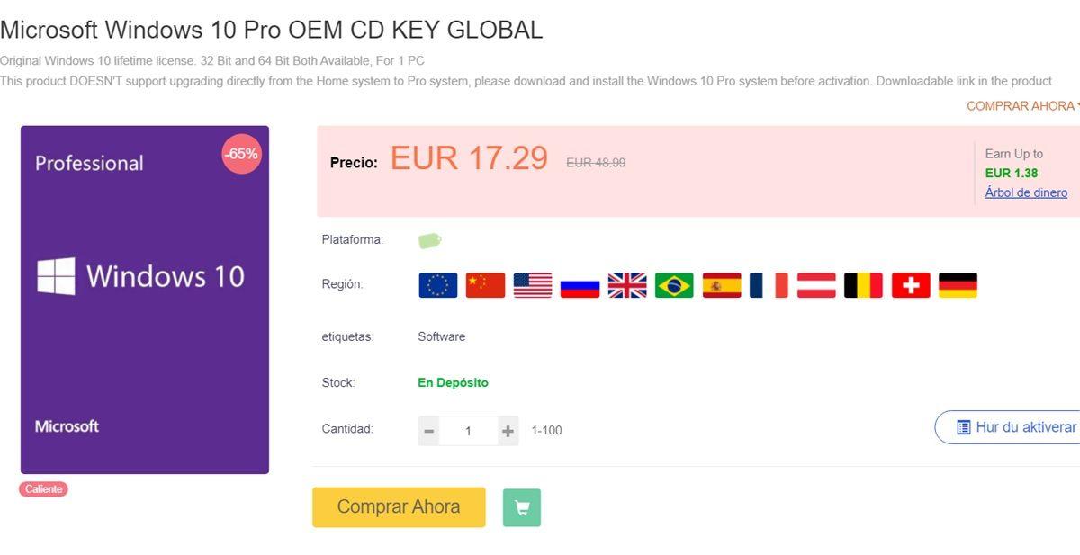 cdkeylord comprar key de windows 10 pro