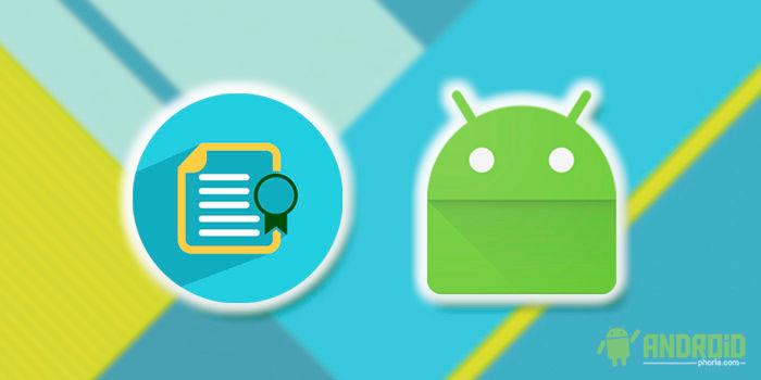 Certificados digitales en Android