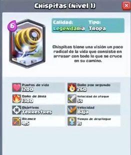chispitas clash royale