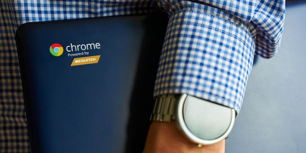 chromebook procesador mediatek