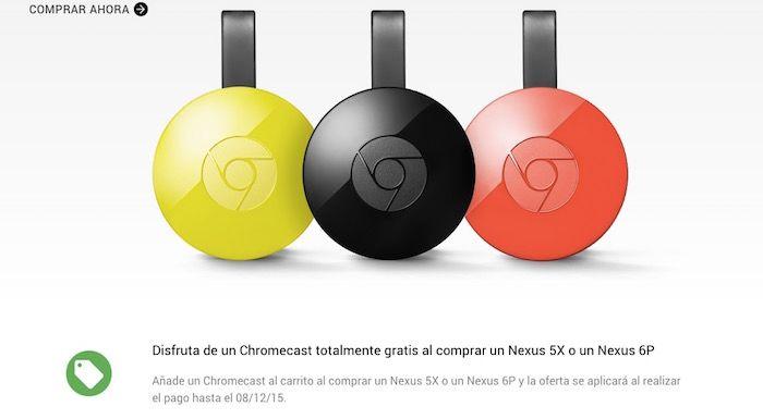 chromecast 2 gratis