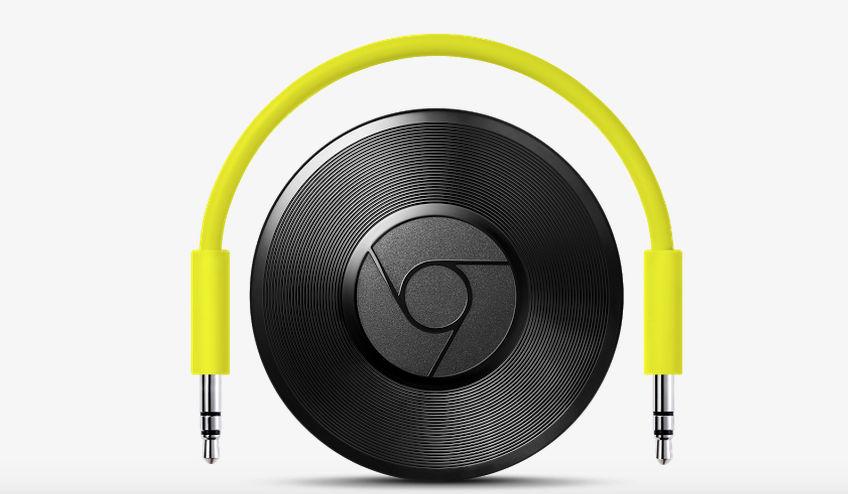 chromecast audio nuevo gadget google