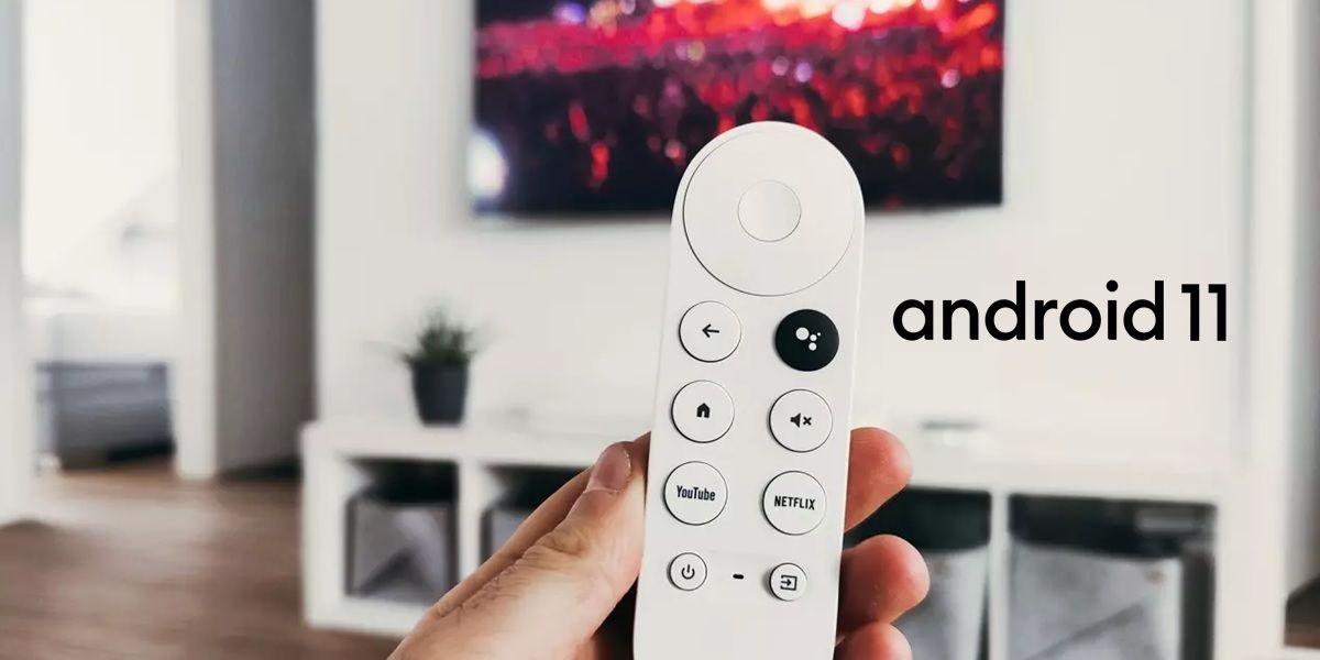 chromecast con google tv android 11