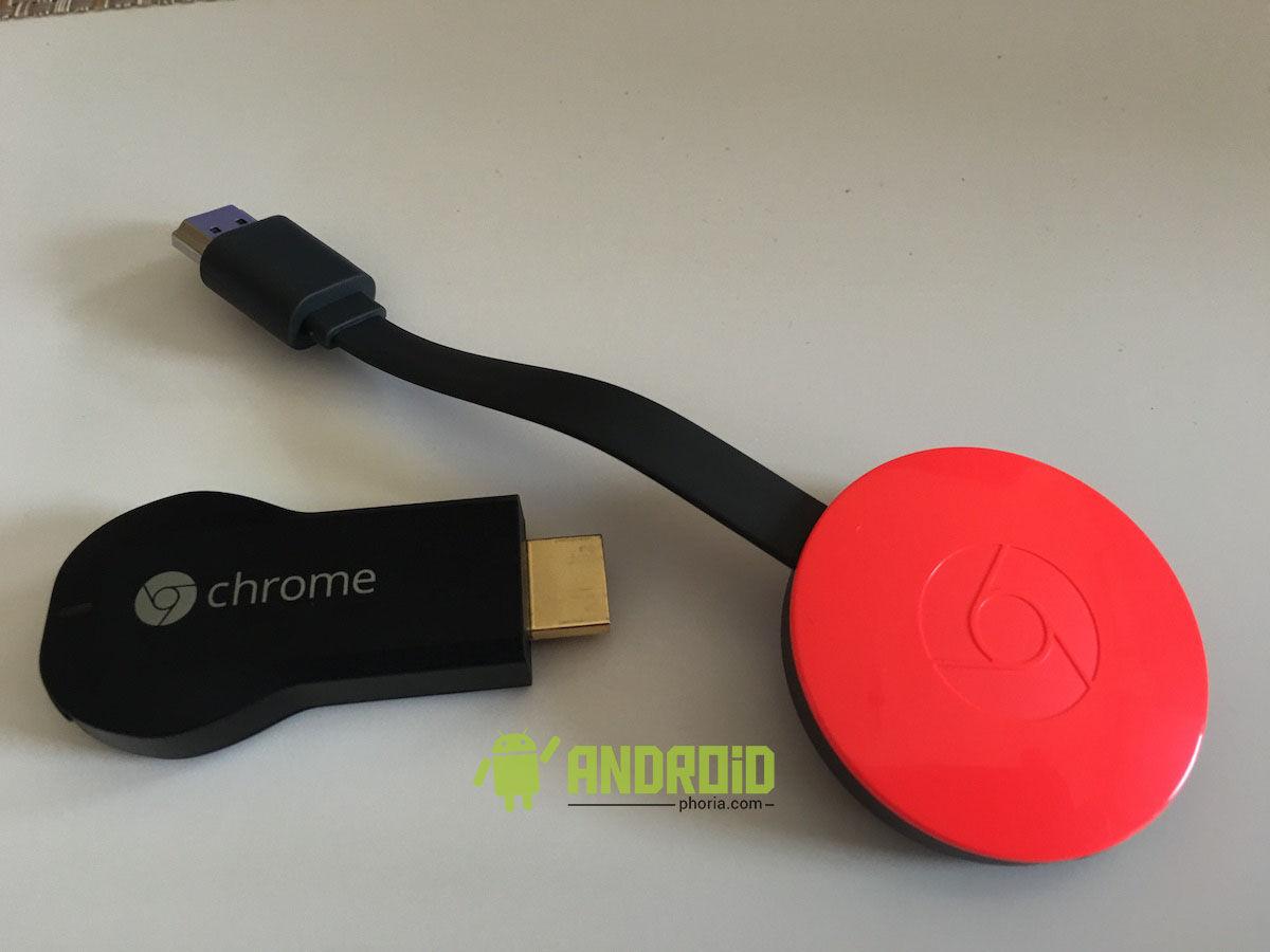 chromecast vs chromecast 2
