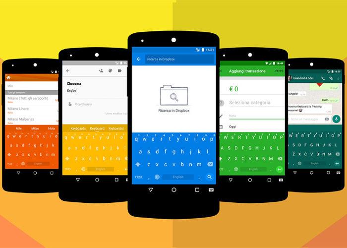 chrooma teclado android