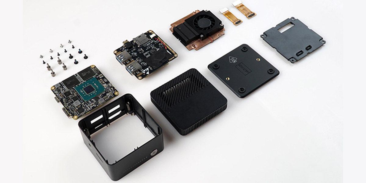 chuwi larkbox desmontaje componentes