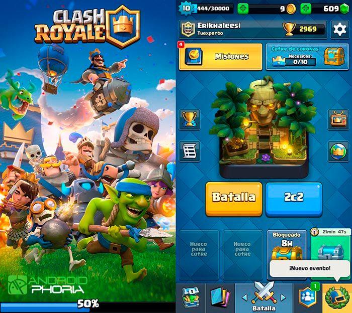 Clash Royale actualización novedades