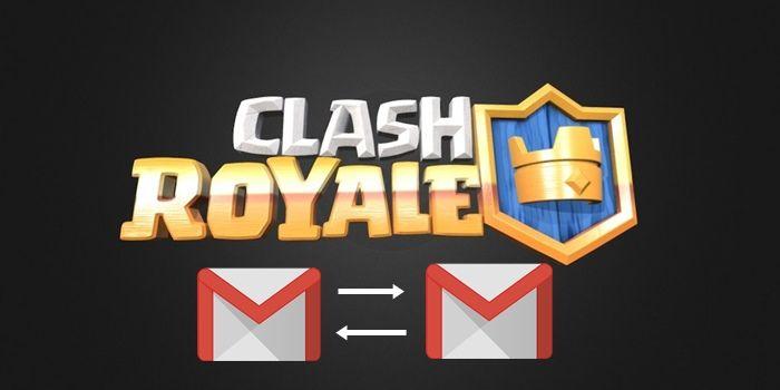 clash royale cambiar correo