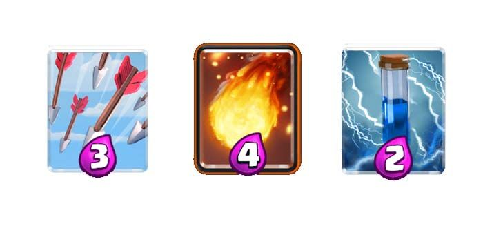 clash royale cartas de largo alcance