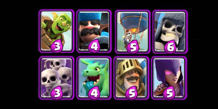 clash royale cartas epicas