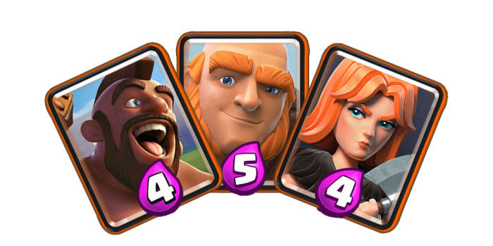 clash royale cartas especiales