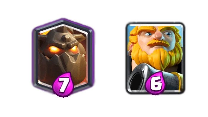 clash royale cartas pesadas