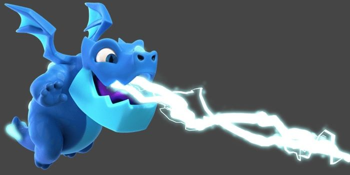 clash royale dragon eléctrico