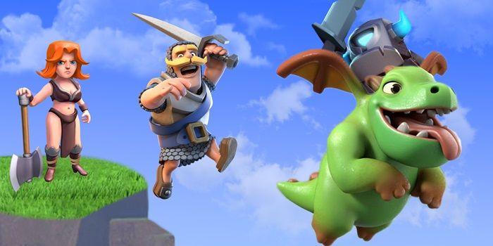 clash royale dragon