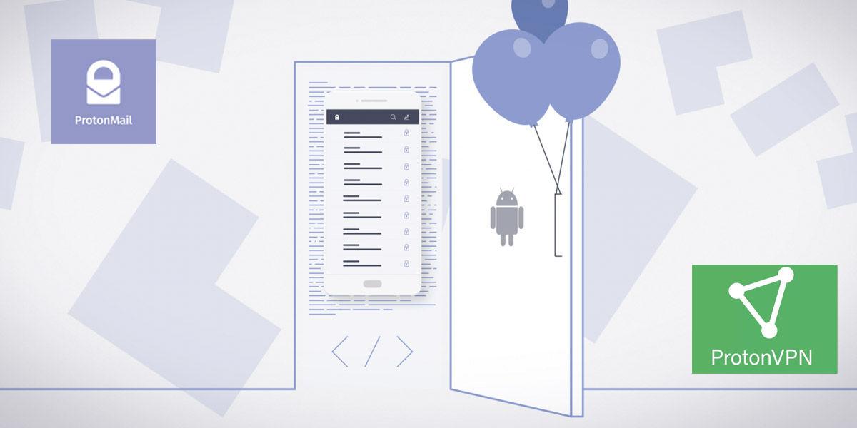 cliente correo android protonmail protonvpn codigo libre