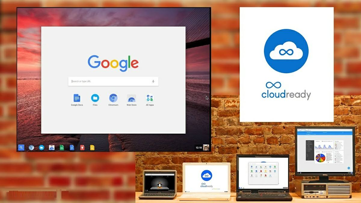 cloudready, version de chrome os para instalar en cualquier portatil