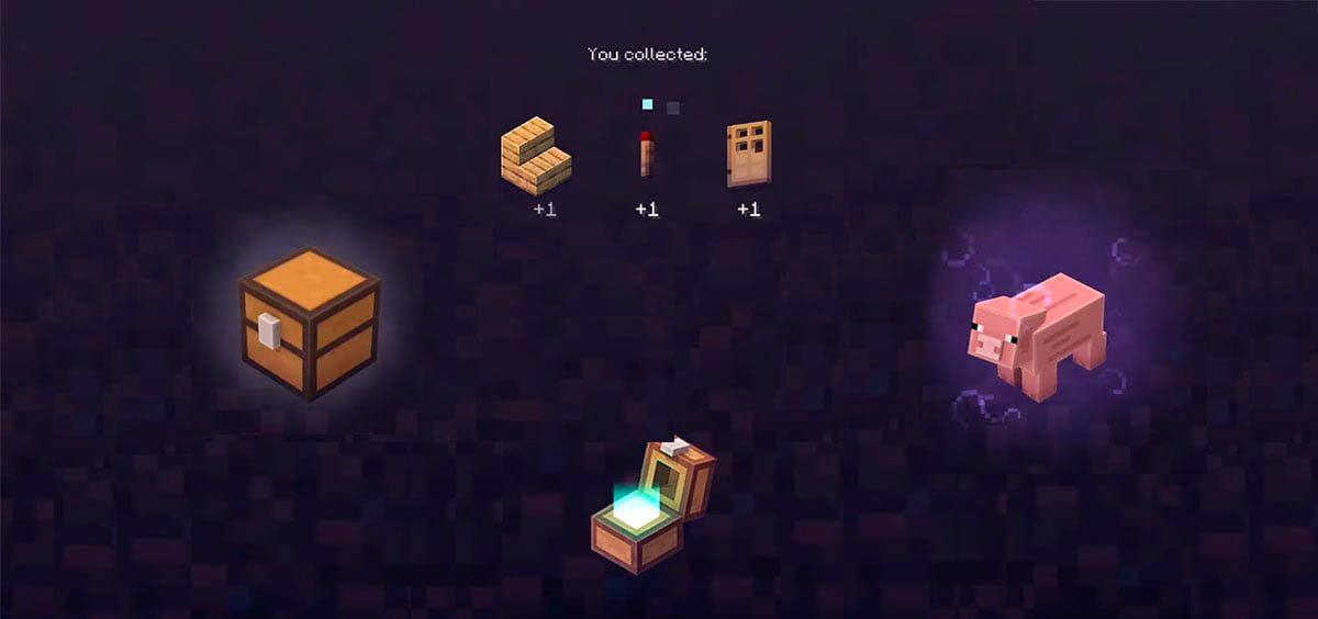 coleccion de artículos Minecraft Earth