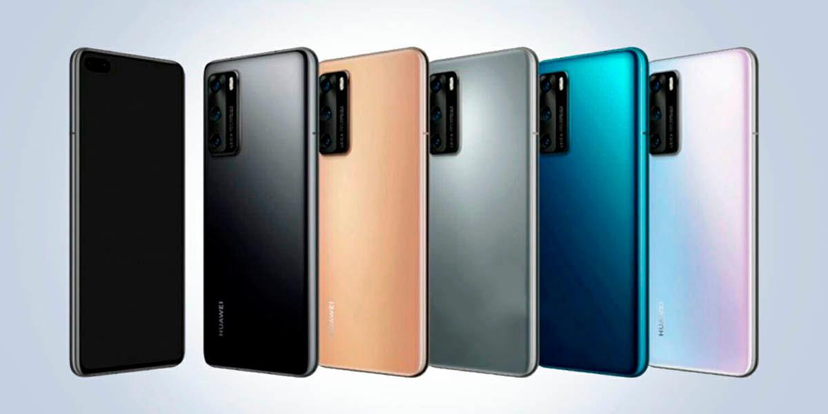 colores disponibilidad precios huawei p40 series
