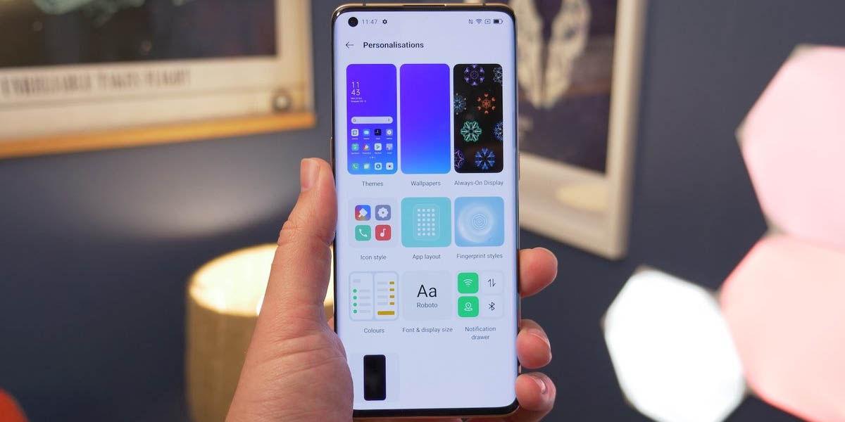 coloros 11 mejor capa de personalización android 2020