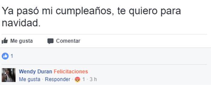comentario de felicitaciones en facebook