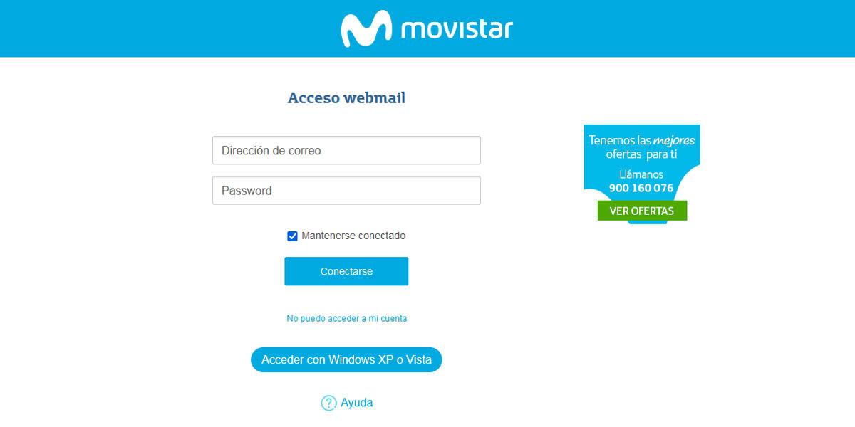 cómo acceder correo electrónico movistar