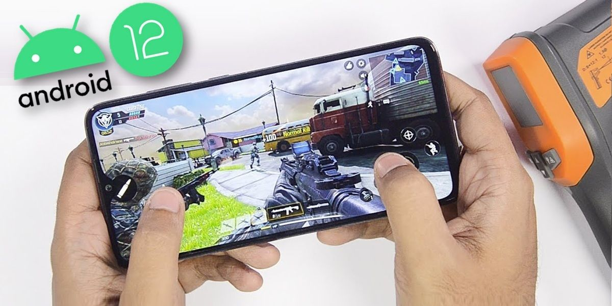 como activar modo juego android 12