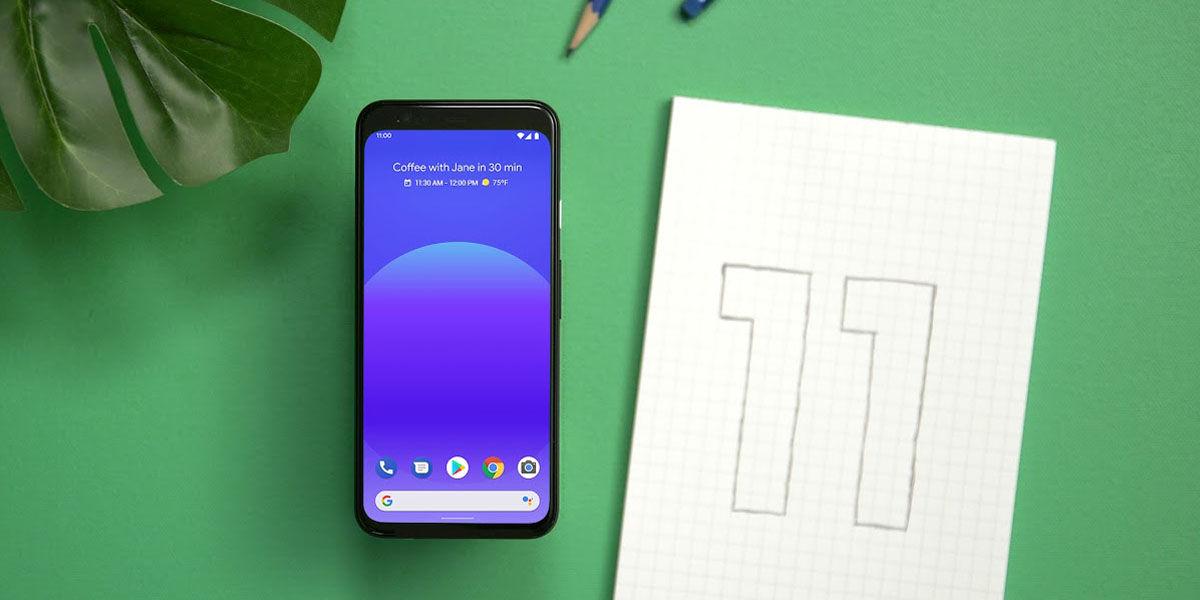 cómo actualizar pixel android 11
