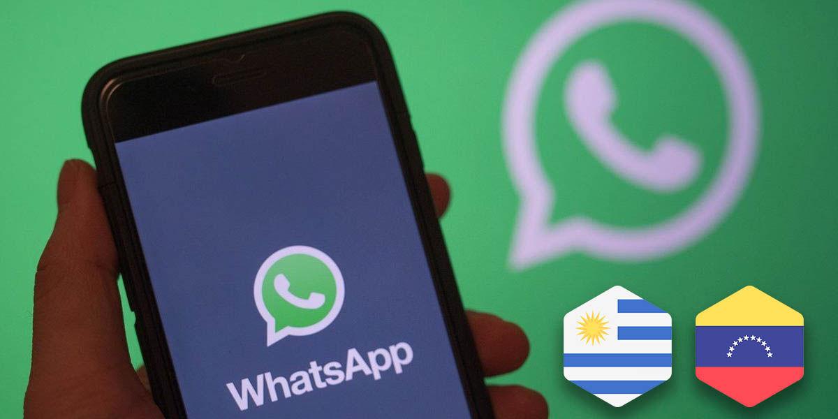 cómo añadir números venezuela uruguay whatsapp