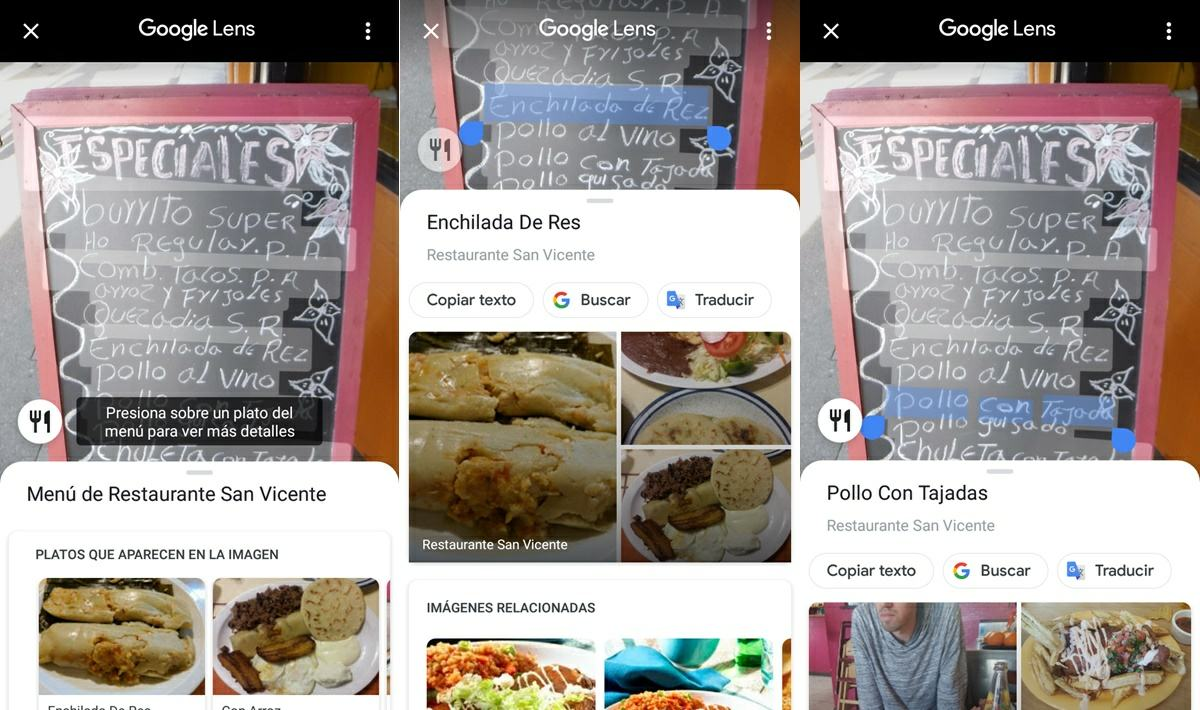 como analizar menu de restaurante con google maps 2