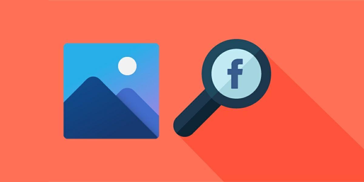 como buscar una imagen en facebook con una foto