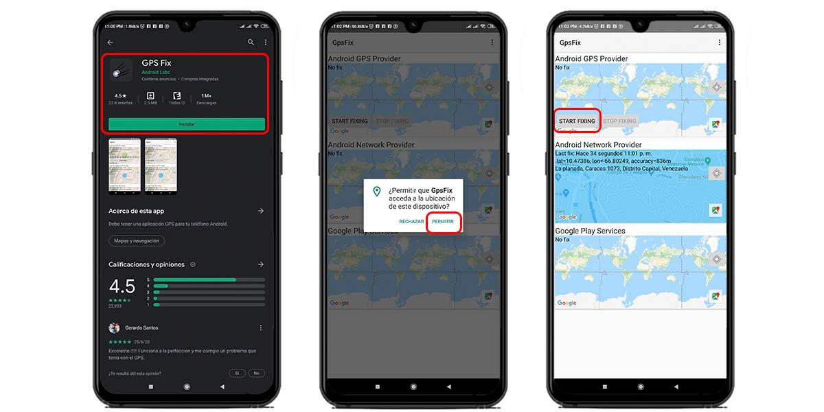 cómo calibrar el gps de tu móvil con gps fix