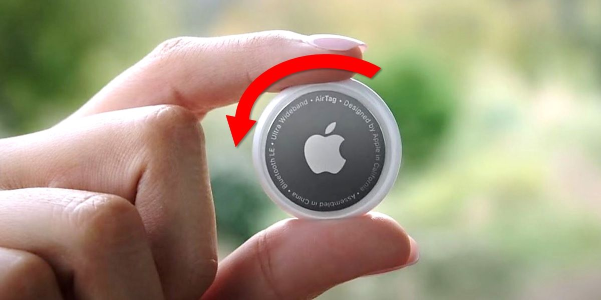 como cambiar bateria de apple airtag