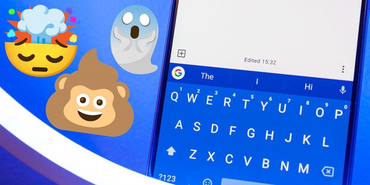 como crear combinaciones de emojis con el teclado de google