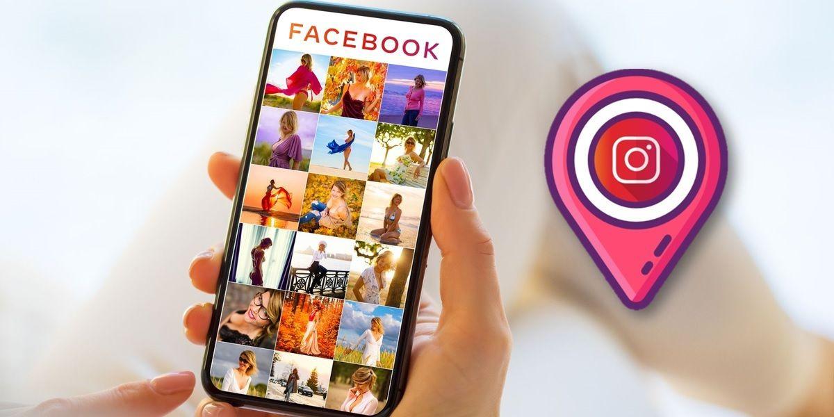 como crear ubicacion en facebook e instagram