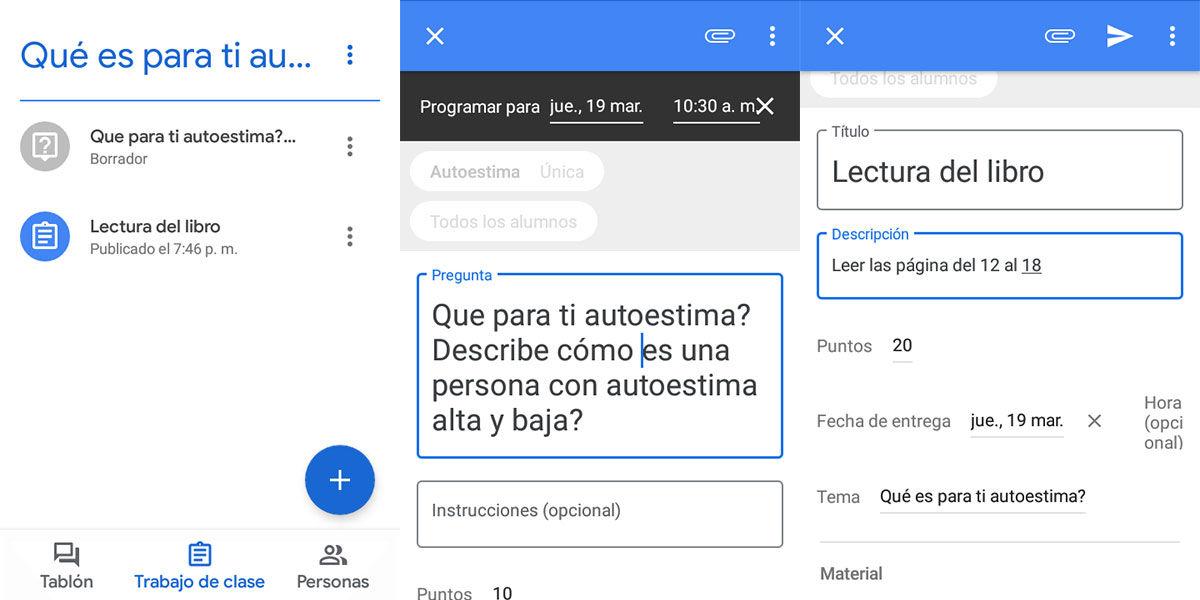 como crear una clase con google classroom
