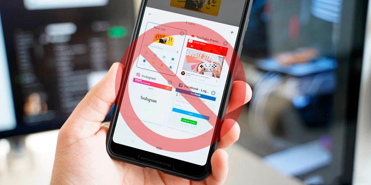 cómo desactivar agrupamiento pestanas google chrome android